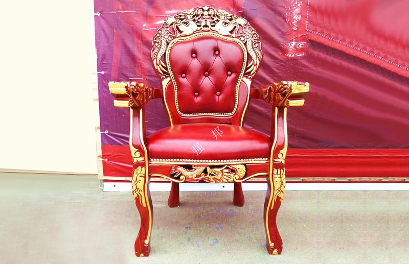 真皮餐椅D13