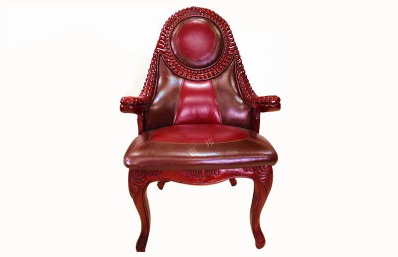真皮餐椅D12