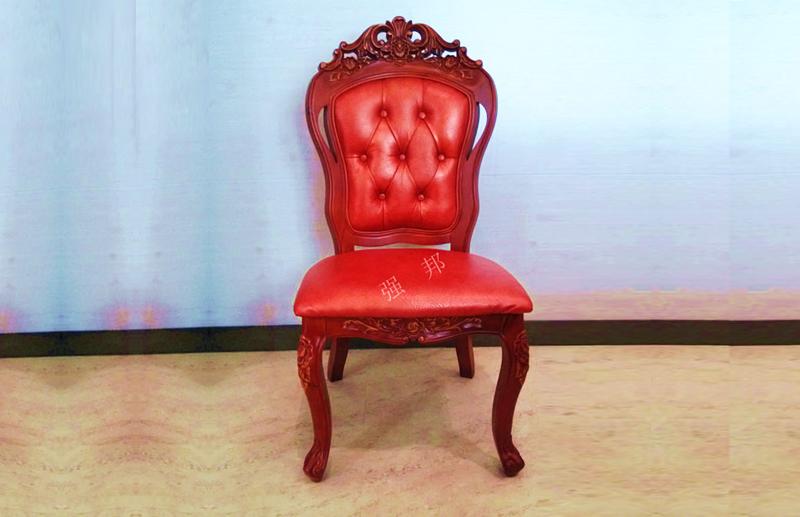真皮餐椅D10