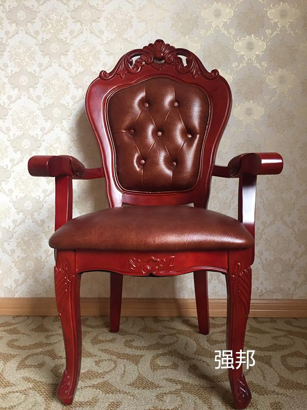 真皮餐椅D01