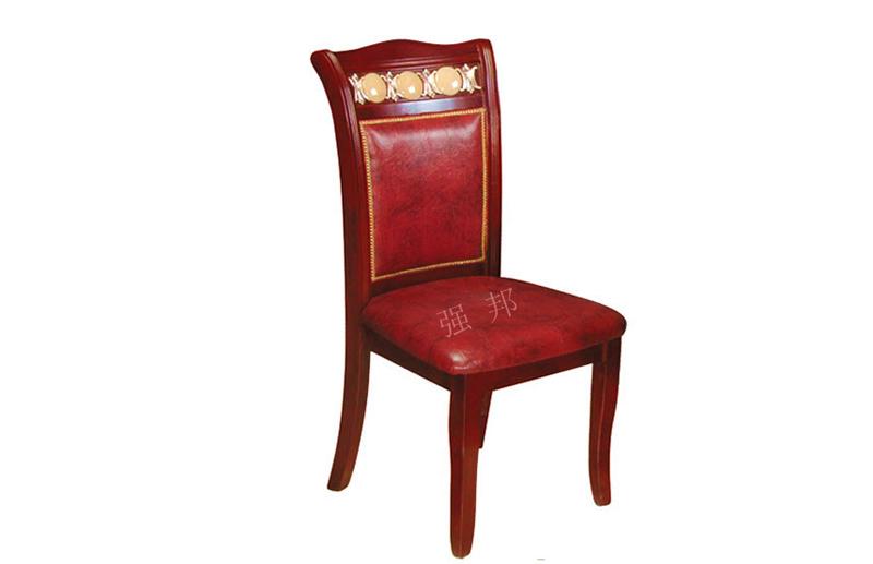 真皮餐椅D18