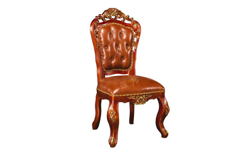 真皮餐椅D17