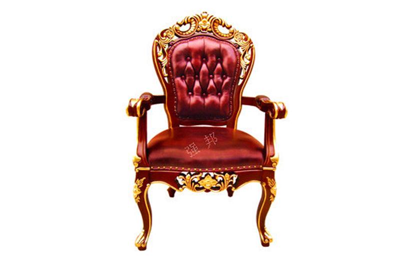 真皮餐椅D16